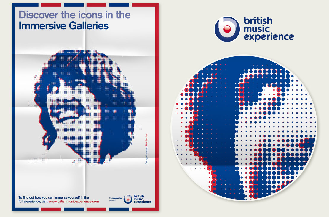 British Music Experience Poster Design