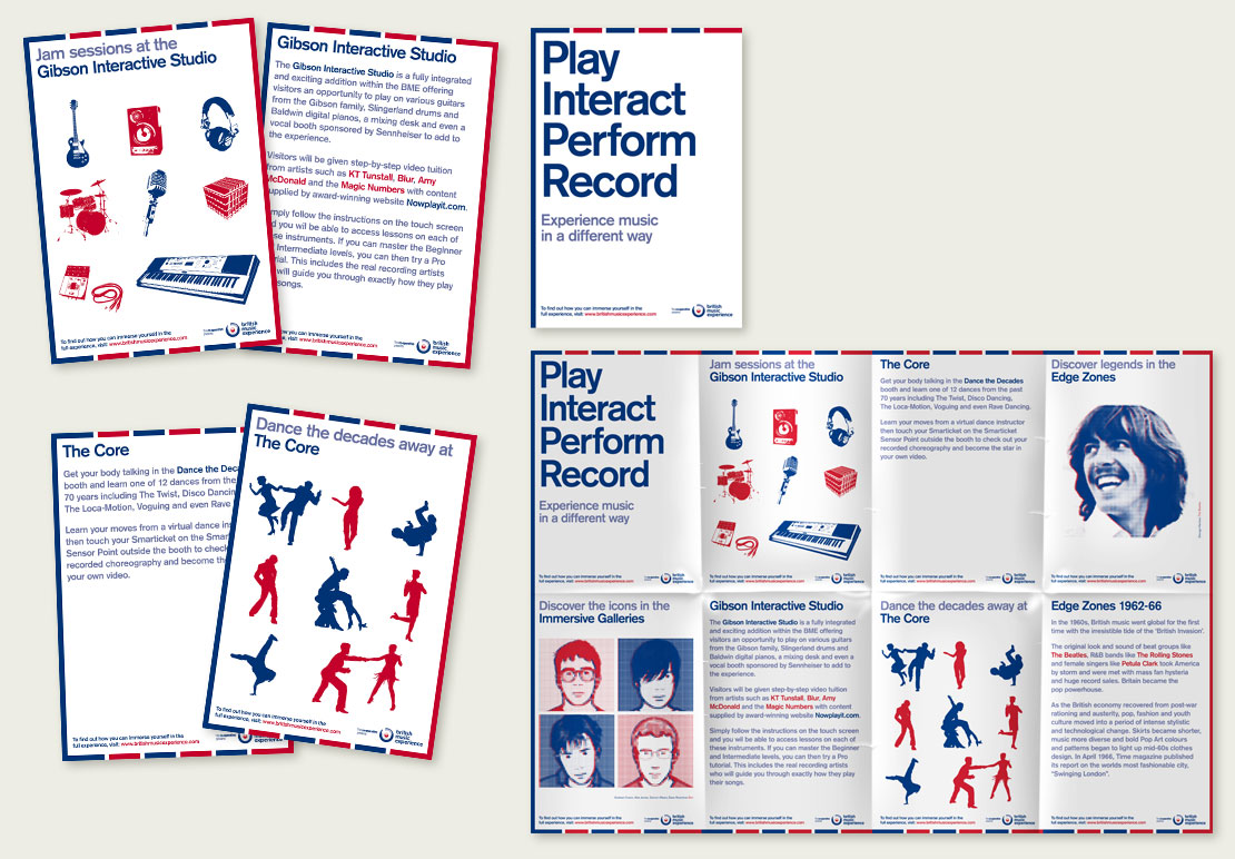 British Music Experience Campaign Design