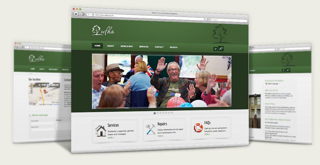 Housing web design